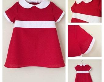 Little Orphan Annie 15 or 18 inch Doll dress