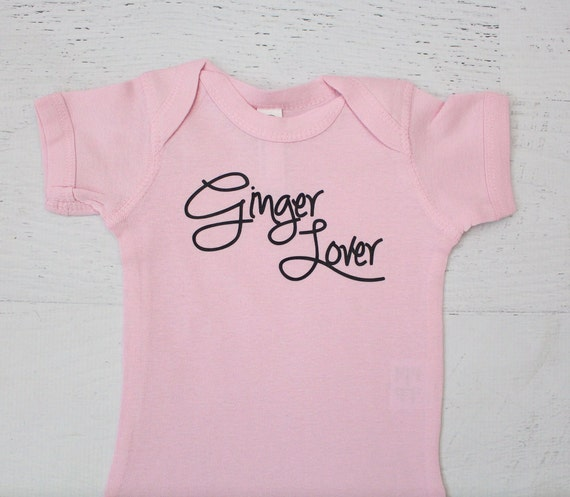 Ginger Lover for Baby bodysuit redhead mom or dad