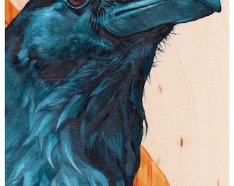 Print or Card: Raven