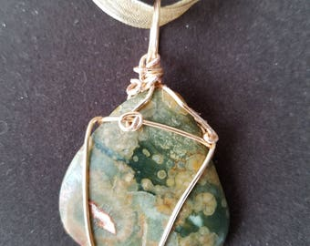 Rainforest Jasper Pendant