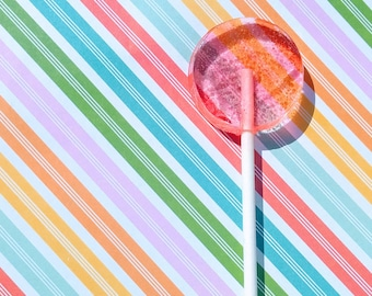 Sandia Lemonade Lollipops (Watermelon)