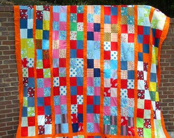 Vintage Quilt top UNFINISHED extra large
