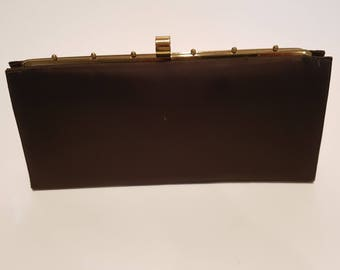 Vintage Peau de Soie Clutch/Purse
