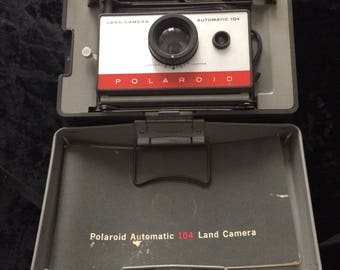 Vintage Polarold 104 Land Camera