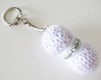 Key chain personalized wool Pincushion