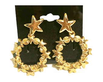 Celestial Babe Lucky Star Earrings