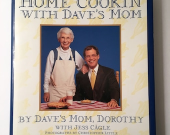1996 Home Cookin' With Dave's Mom Cookbook