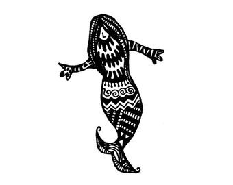 Mermaid Notecards