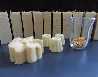 Sweet almond oil - goat milk SOAP - Shea butter