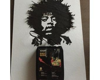 Jimi Hendrix 8-Track Tape Portrait