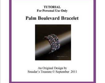 RESREVED for SimplyAdorning - Beading Tutorial - Magical Magatamas Bracelet - for Personal Use Only