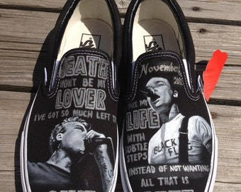 Hand Painted Band Shoes