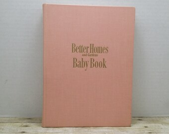 Baby Book, Better Homes and Gardens, 1951, vintage baby