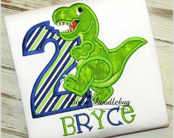 Boys Dinosaur Birthday Shirt- TRex Birthday Shirt - Boys Birthday Shirt - Girls Birthday Shirt - Dinosaur Birthday Shirt-  Birthday Shirt