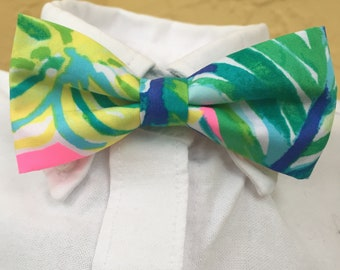Lilly Pulitzer Little Boy Local Flavor Bow Tie