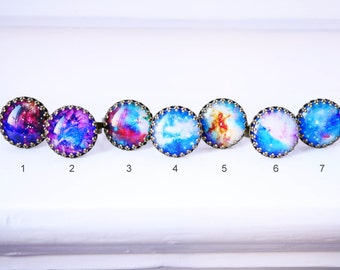 Universe cabochon ring