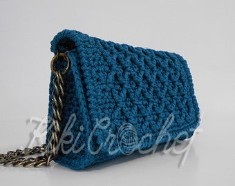 Diamonds Love Evening Crochet Purse, Handmade, Luxury Bag, Luxury Purse, Vintage Purse, Vintage Bag, Crochet Handbag, Free  Shipping
