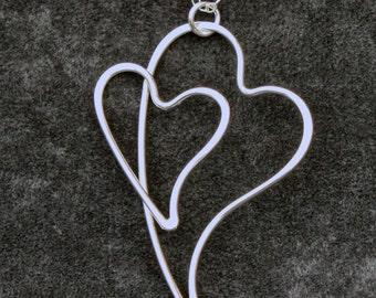 Heart on Heart Pendant