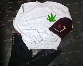 weed sweatshirt, weed, weed sweater, weed jumper, weed leaf, grass shirt, cannabis, stoner gift, stoners, stoned, drugs sweater