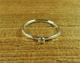 Individual Accent Stacking Ring/Stitch Marker