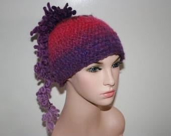 No: 17 Freeform crochet hat, wearable art, OOAK