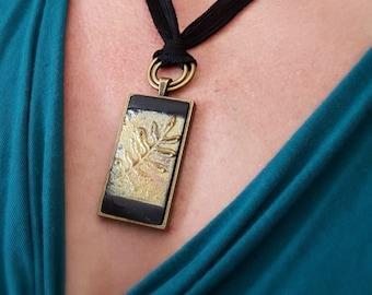 Jewelry Necklace, Necklace Jewelry, Necklace Pendant, Pendant Necklace Ceramic Jewelry  Raku Necklace Gift for Women Gift for Her Gift