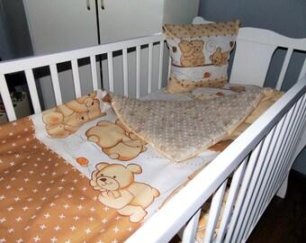 Blanket, bedding for children-set
