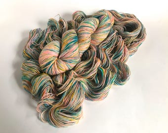 Sea Spiral Sock Yarn. Wild Fling