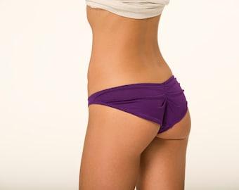 Purple Lingerie Panties- Cheeky-RTS