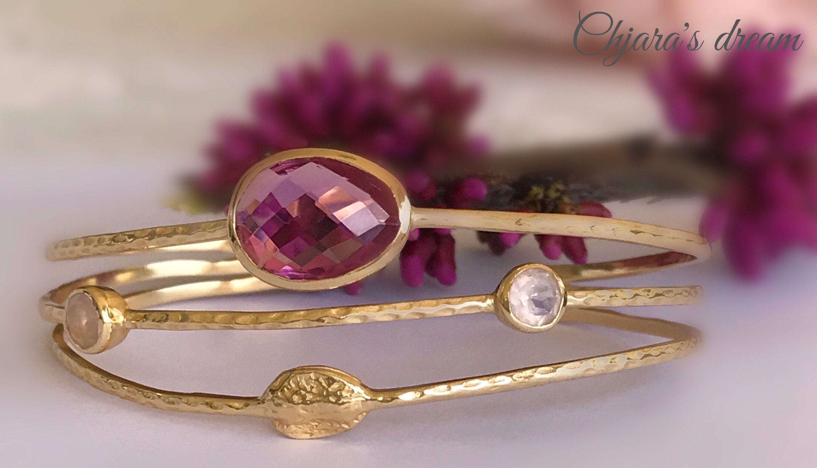 cut bangle fashion an judith products amethyst a bezel bracelet arnell bangles featuring jewelry white diamond gold and cabochon collections