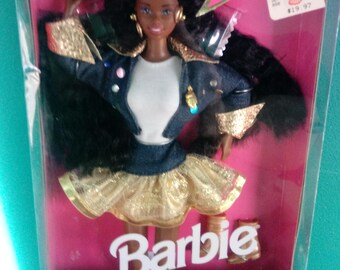 Mattel African American Super Talk Barbie Doll New in box Barbie Doll