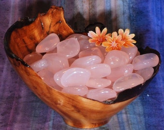 1 GIRASOL ROSE QUARTZ Tumbled Stone - Girasol Rose Quartz Crystal, Girasol Rose Quartz Stone, Tumbled Rose Quartz, Girasol Quartz Gemstone
