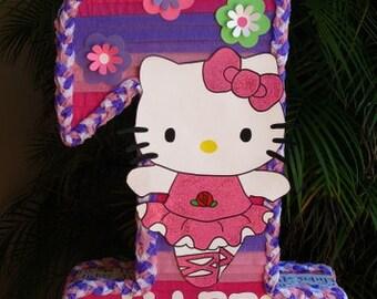 Hello Kitty 1st Birthday Handmade Birthday Child Pinata