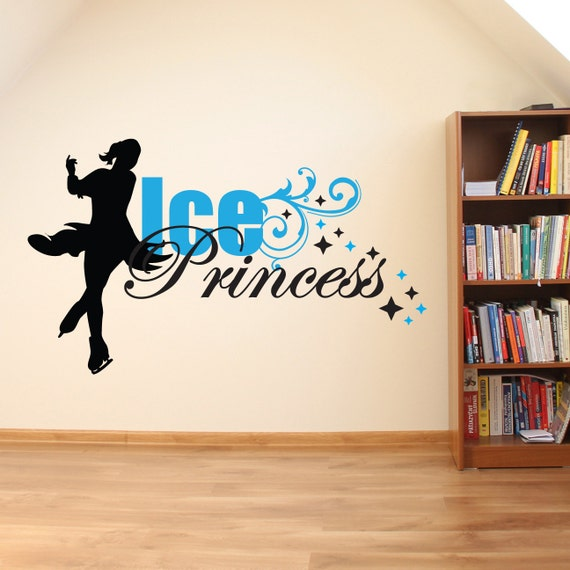 Figure Skating Wall Decal by LEVinyl