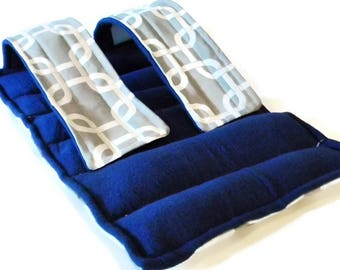 Heated Knee Wrap, Knee Cold Pack, Microwave Heat Pad for Knee Arm Ankle, Rice Hot Pack Ice Pack, Heating Packs