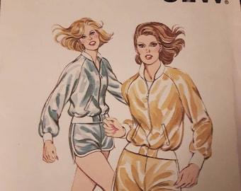 Kwik Sew 933, Shorts and Jacket Sewing Pattern