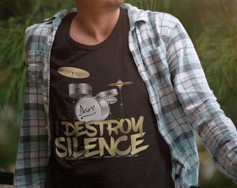 Drummer shirt - Drummer gift - Gift for drummer - Drummer tshirt - Funny drummer shirt - Drums shirt - Band shirt - Music shirt Drummer Tank