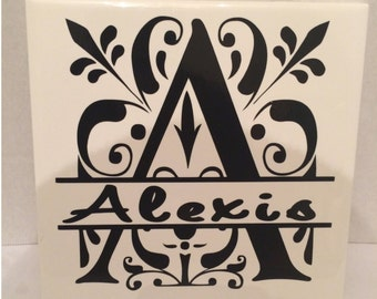 Personalized Tiles - Custom Name Tile