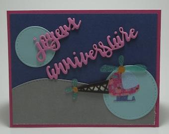 Happy birthday, girl aviation