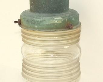 Vintage Antique Outside Light Lamp Fixture