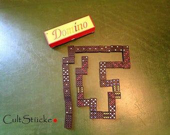 Vintage sehr altes Domino Spiel Domino Steine