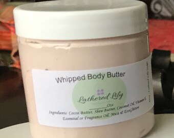 Grapefruit Lily Whipped Soap Sugar Scrub