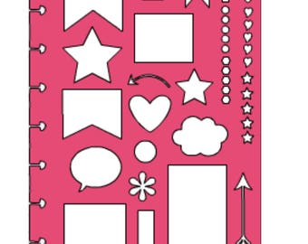 Classic Happy Planner with drops