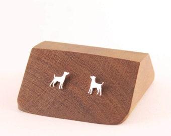 Doggy Studs, Little Dog Earrings, Sterling Silver Studs,Puppy Earrings, Dog Jewelry, Dog Studs,Dog Earrings,Silver Dog Earrings,Animal Studs
