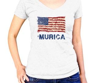 American Flag Shirt - 4th Of July Shirt - Patriotic Shirt - Red White and Blue - USA Shirt - July 4th Shirt - American Shirt - USA Flag