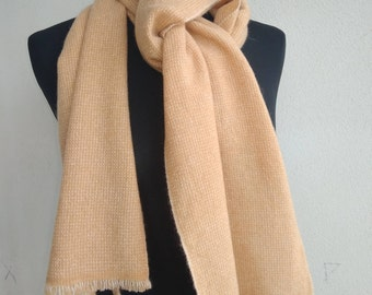 Pure cashmere scarf. Father's Day gift.
