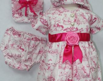 Girls Easter dress, easter dress, handmade, dress, summer dress, easter, girls dresses, baby clothes, baby girl, baby girl clothes, baby hat