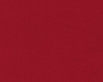 Kona Cotton Red from Robert Kaufman Fabrics