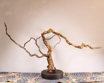 Wood Sculpture, Forest Sculpture , Driftwood Sculpture : River Reflections 18016