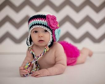 girls hat, girl hat, baby hat, newborn girl hat, baby girls hat, girls hat, little girls hat, crochet girl hat, kids hat, baby girl hat